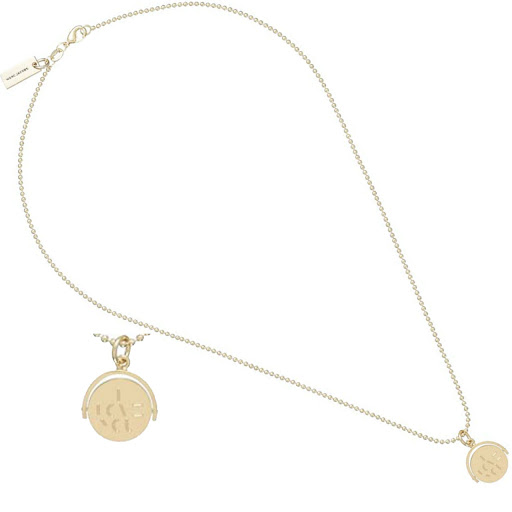 I Love You Necklace Plated Brass