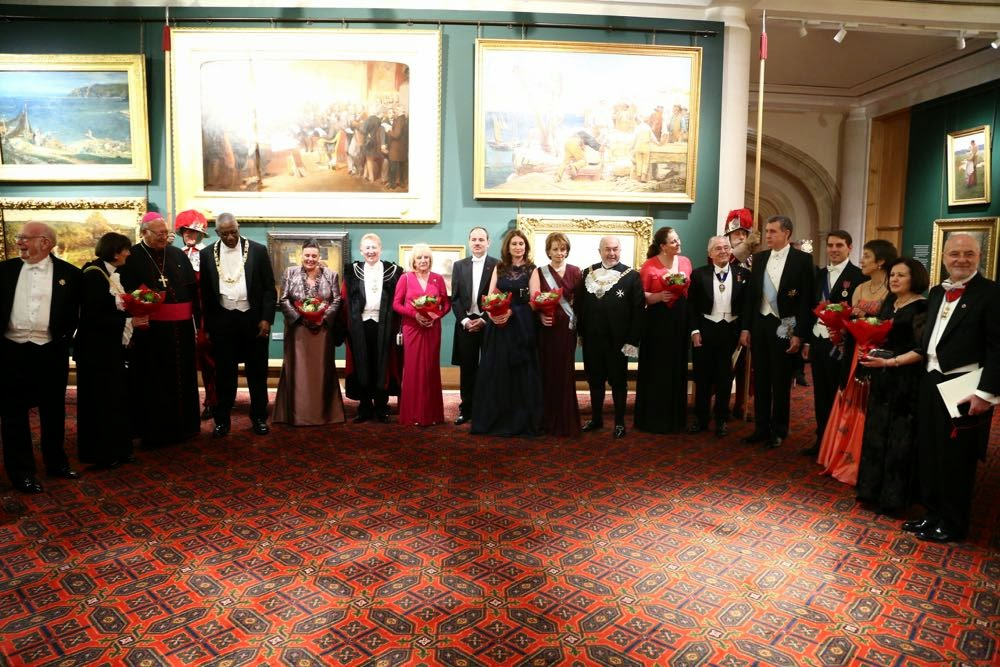 Familia Regală a României, vizită la Londra