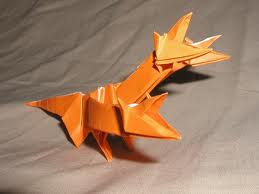 Origami 3 headed dragon Tutorial 1/5 - YouTube | 194x259