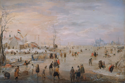 Hendrick Avercamp - Enjoying the Ice