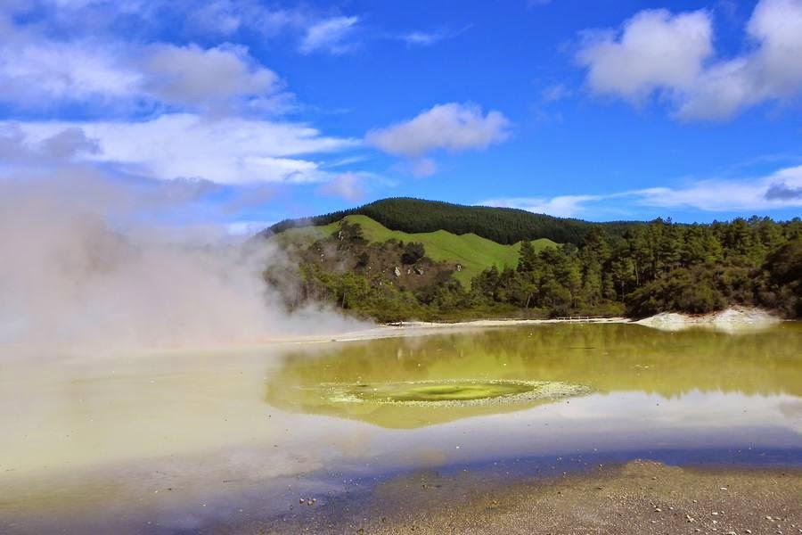 Waiotapu, Nueva Zelanda