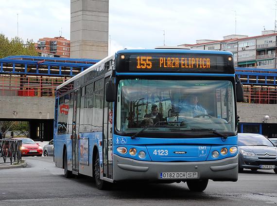 Horarios de los autobuses EMT por Nochebuena 2016, Navidad, Nochevieja y Año Nuevo 2017