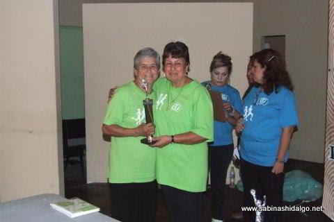 Estela Guadiana López triunfó en categoría de 60 años y más femenil