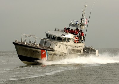 47MLB (Motor Life Boat) off Manasquan Inlet  USCG photo by PAC Tom Sperduto