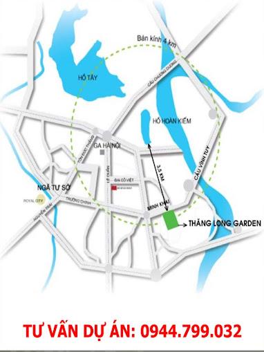 Chung cư Thăng Long Garden 250 Minh Khai Chỉ từ 1. 4 tỉ