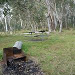 BBQ at Clover Flat campsite