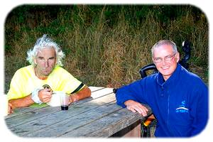 Bernard Deniaud et Franck Denaene
