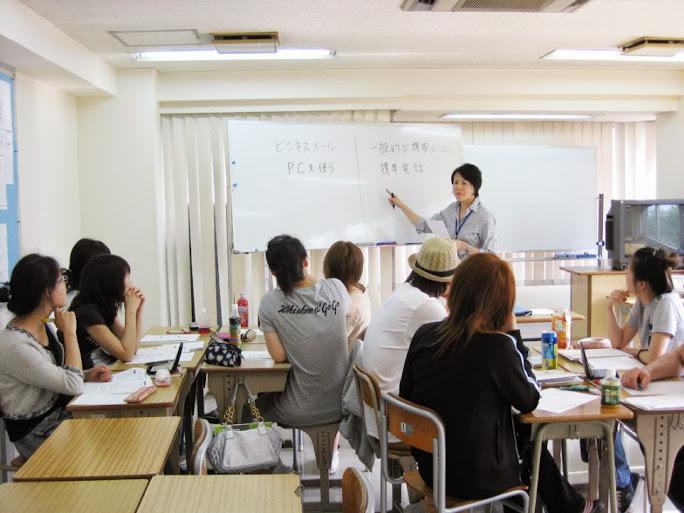 lớp học tại trường topa 21 Century