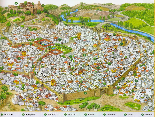 Modelo de ciudad islámica - HistoriadelasCivilizaciones.com