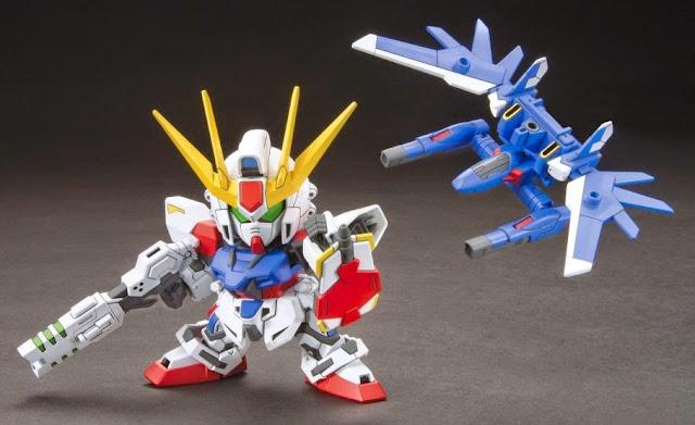 Build Strike Gundam Full Package BB-388 SD dành riêng cho những ai yêu mến nó