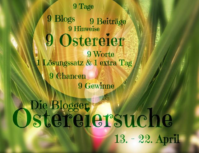 bloggerostereiersuche01 1 Blogger Ostereiersuche • <br> DIY Osterstrauch mit gepunkteten Eiern + Giveaway