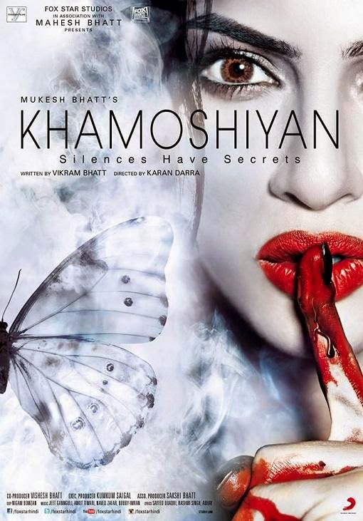 Cover of Khamoshiyan (2015) Hindi Movie Mp3 Songs Free Download Listen Online at alldownloads4u.com