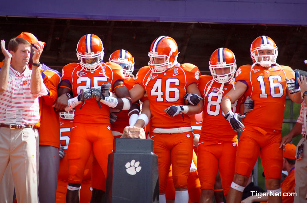 Clemson vs. Georgia Tech - Dabo Photos - 2008, Dabo Swinney, Football, Georgia Tech
