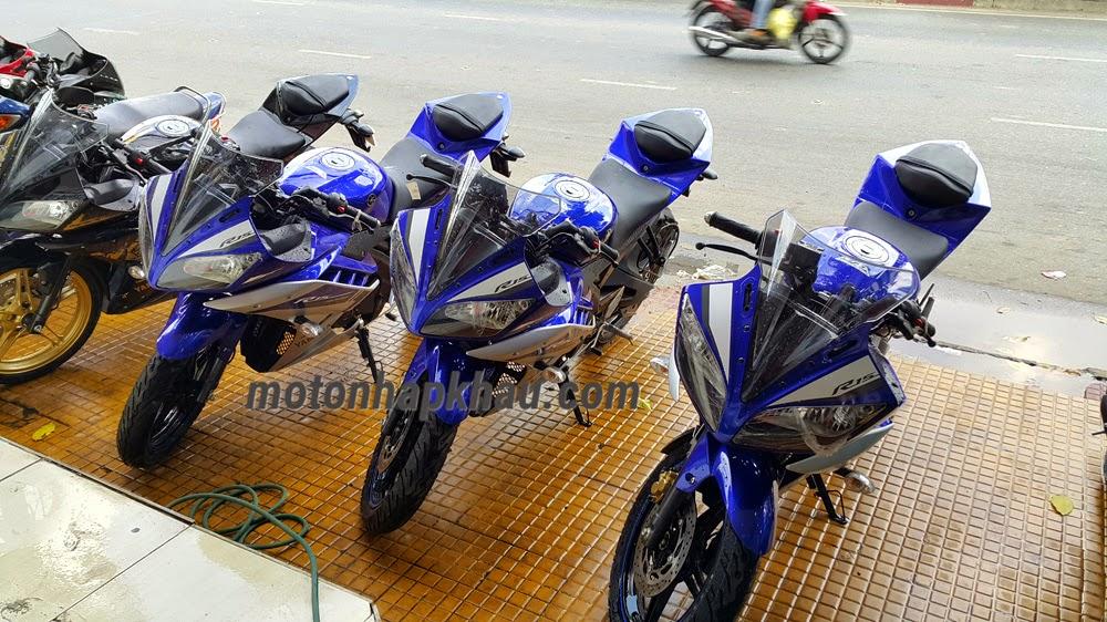 Yamaha R15 2015 Xanh GP