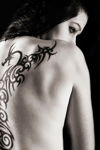 dragon tattoo for girls