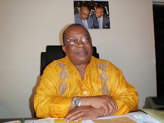 Gabriel Kyungu wa Kumwanza, président de l'union national des fédéralistes du Congo (Unafec) et président de l'assemblée provinciale du Katanga. Radio okapi. Ph. Colin Djuma-Musompo.