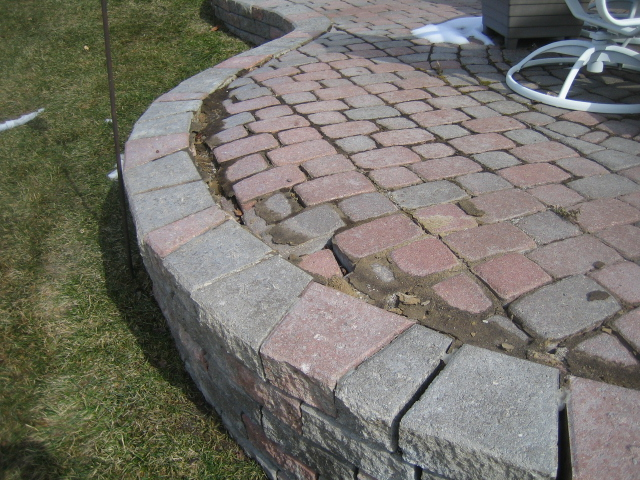 Elegant During A Brick Paver Repair Estimate This Past Week, I Again Witnessed The  Failure Of A Raised Paver Patio Wall U0026 Doorwall Steps That Were Installed  By An ...