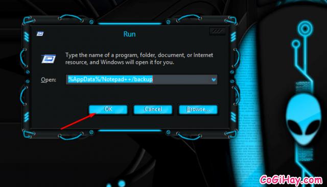 khôi phục dữ liệu bị mất bởi notepad++