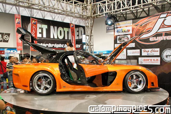 VEILSIDE FORTUNE MAZDA RX-7 TOKYO DRIFT JSK Manila Auto Salon Custom Pinoy Rides Philip Aragones pic2
