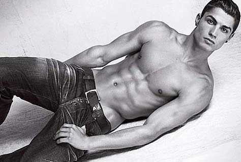 Cristiano Ronaldo, desnudo