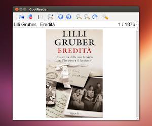 Cool Reader su Ubuntu 13.04 Raring