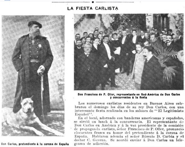 Fiesta carlista en Buenos Aires (1905)