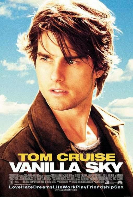 Poster Of English Movie Vanilla Sky (2001) Free Download Full New Hollywood Movie Watch Online At Alldownloads4u.Com