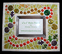 Autumn Leaves Frame  mof1216  by Brenda Pokorny