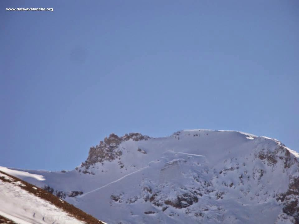 Avalanche Cerces, secteur Tête de Colombe - Photo 1
