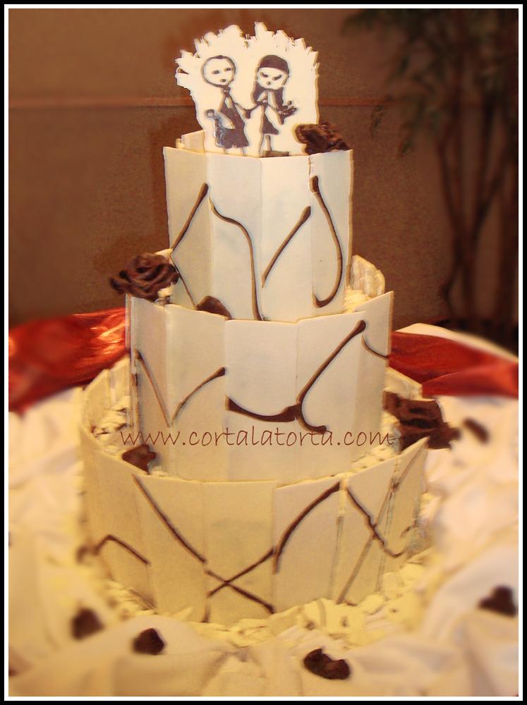 No sabes cuanto significo para nosotros, el entrar al salón y ver tu hermosaaa creación ahi, es la torta de mis sueños!