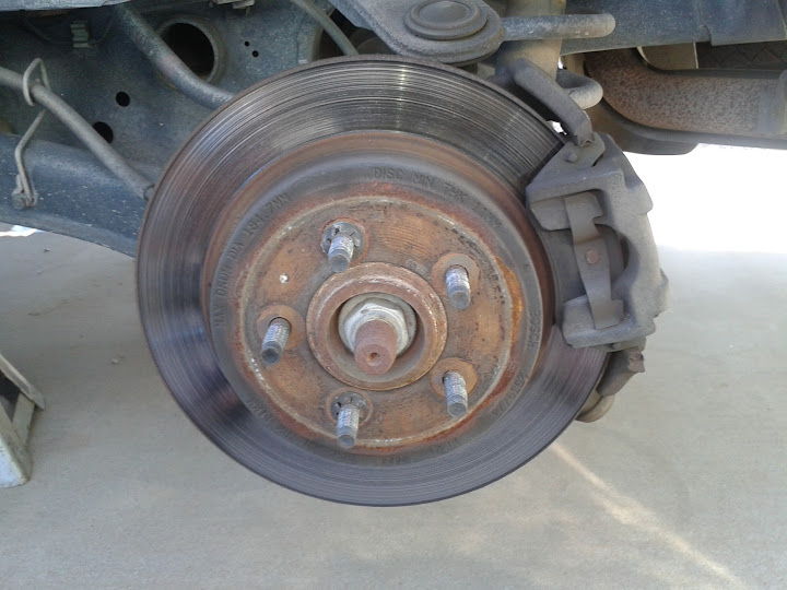 Performing Front Brake Replacement On A 2002 Ford Explorer