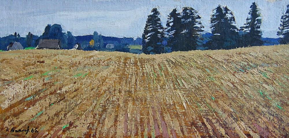 Nikolai Timkov - A Field. 1965