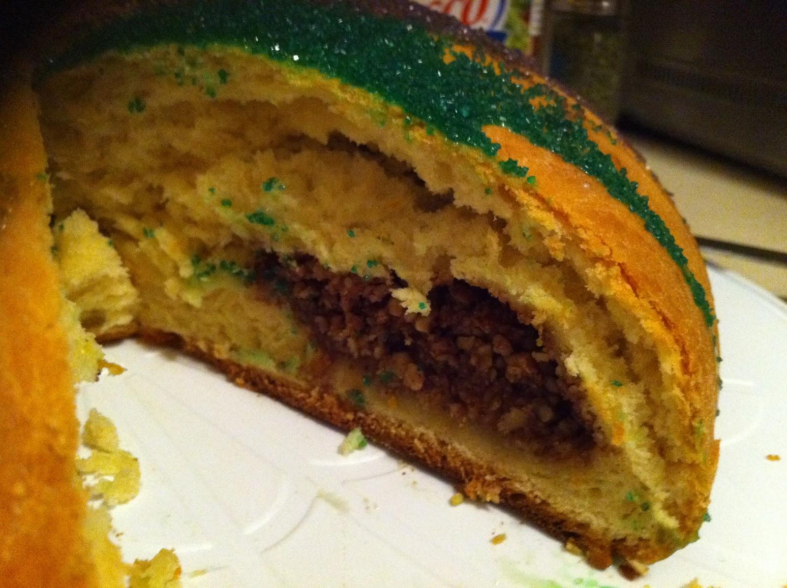 Mardi Gras Coffee Cake