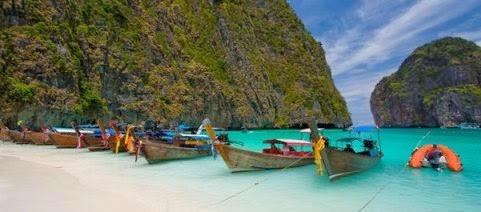 Phi Phi Don, Sul Tailândia