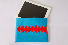 Duck Tape iPad Cover