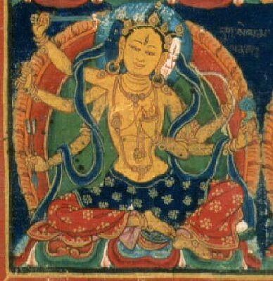 Goddess Janguli Image