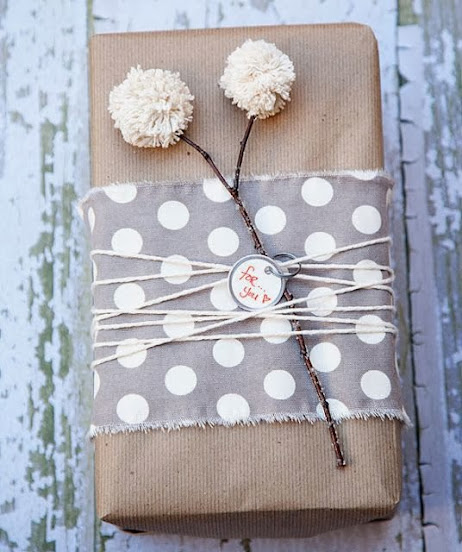 fabric pom pom decorations