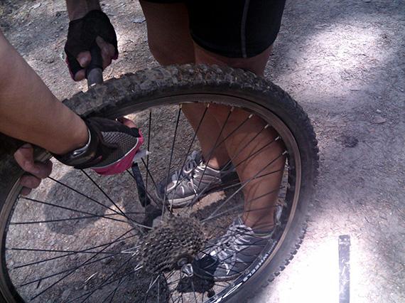 Unas fotos de nuestra ruta por el Carril del Gallo y el Eresma - Julio 2013