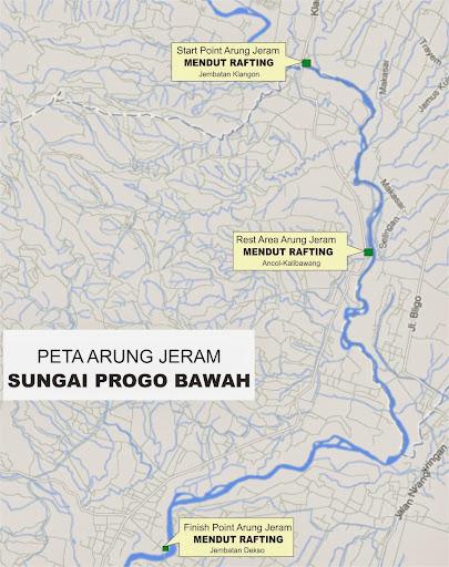 maps Lokasi Arung Jeram Progo Bawah