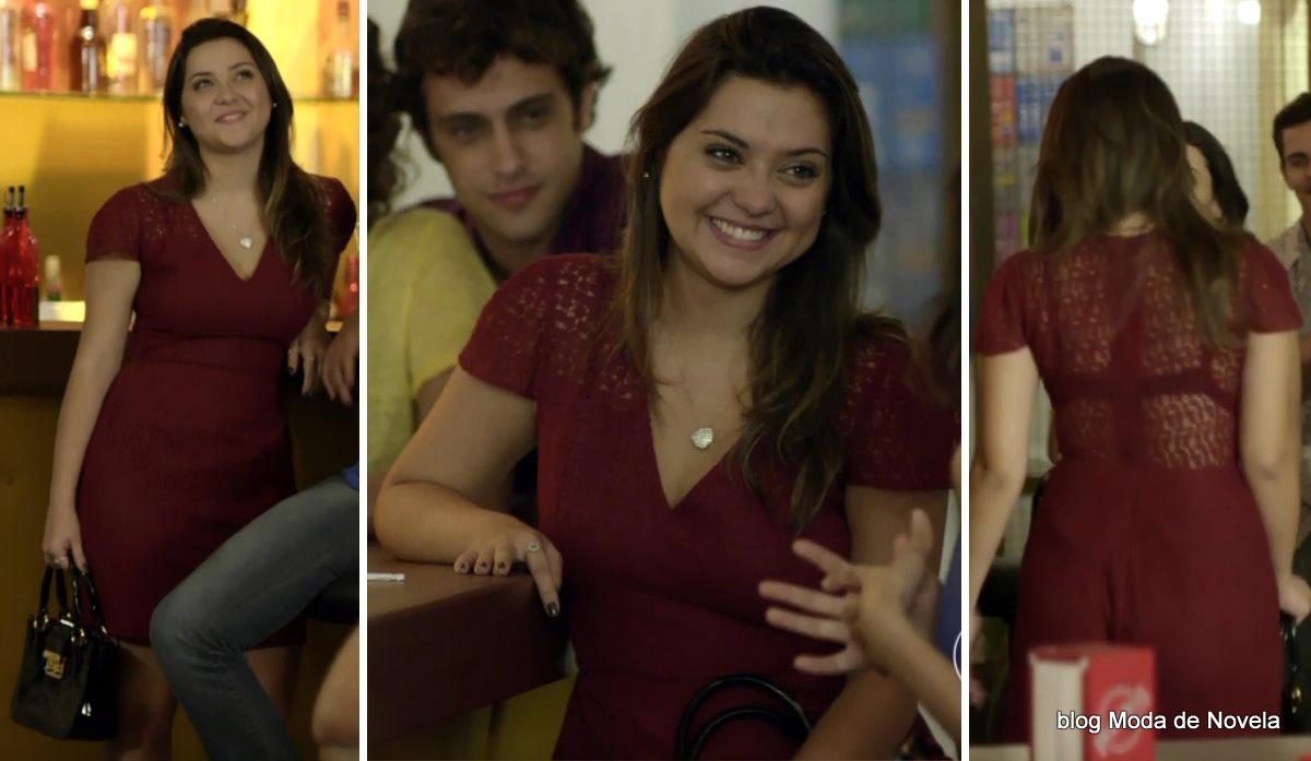 moda da novela Em Família - look da Bárbara dia 2 de junho