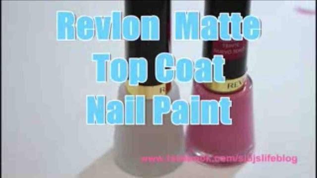 [NAIL] 今次試用 REVLON MATTE TOP COAT~Twinkle C