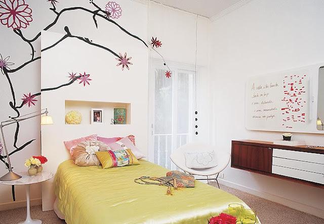 Dormitorios y cuartos para chicas adolescentes - Decoracion de interiores dormitorios pequenos juveniles ...