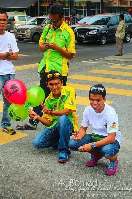 Anak didik CBK Motor Sports kumpulan Badrul