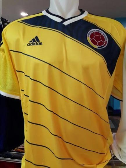 Jual Jersey Kolombia Home Piala Dunia 2014
