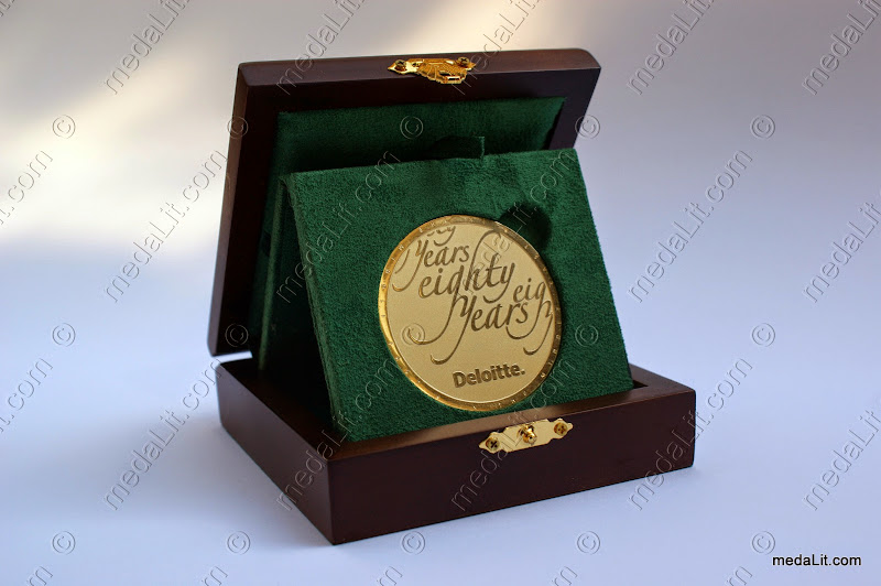 Absi Custom-Made Gold-Plated Medals