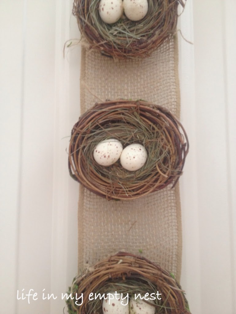 Life In My Empty Nest Nests And Burlap