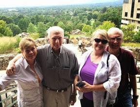 Left to right - Carol Appler, Don Appler, Joy Erbes and Don Erbes