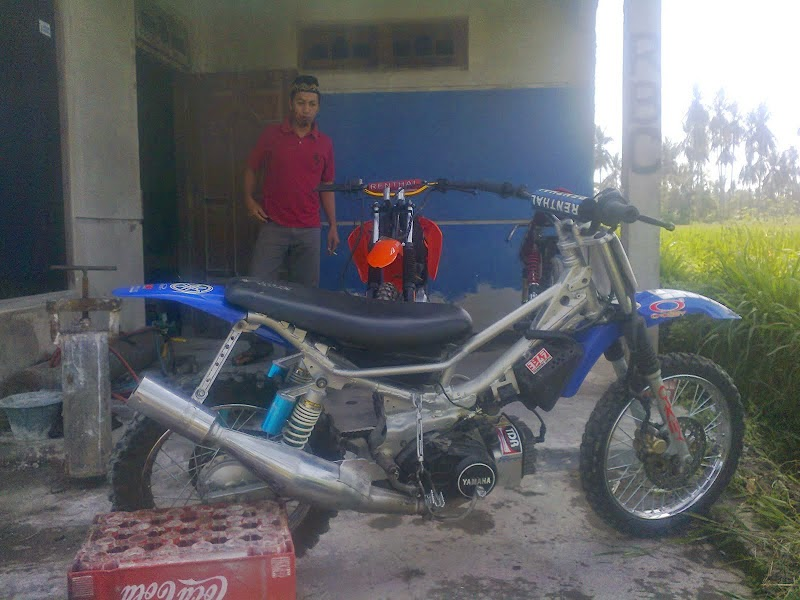 Modifikasi Motor Yamaha Force One