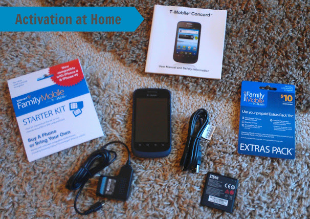 Walmart Family Mobile Starter Kit & Phone #FamilyMobileSaves