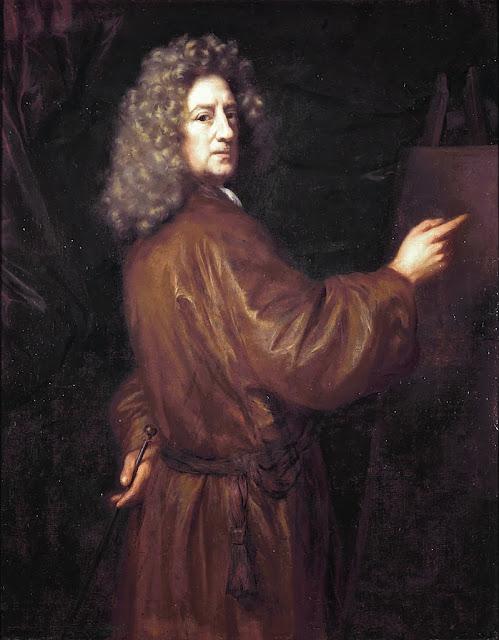Nicolaes Maes - Self-portrait,circa 1685